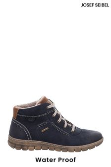 Josef Seibel Blue Steffi Waterproof Ankle Boots