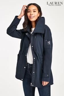 Lauren Ralph Lauren Navy Waterproof Anorack Jacket