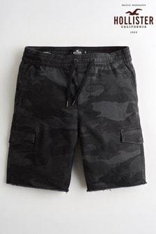 Hollister Camo Cargo Shorts