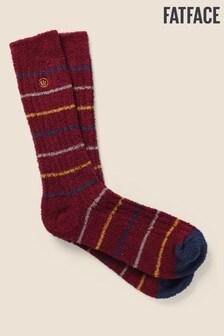 FatFace Red Stripe Mallory Socks