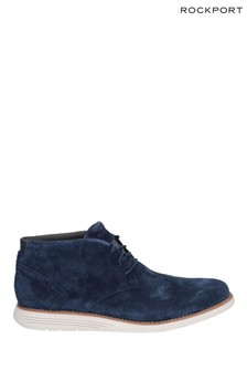 Rockport Navy Total Motion Sportdress Chukka Boots