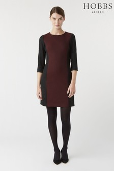 Hobbs Black Gracie Dress