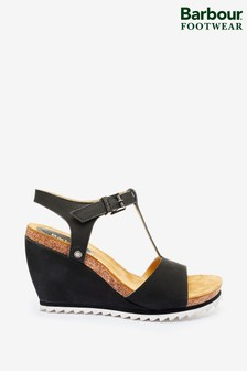 Barbour® Suede Cecila Wedge Sandals