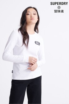 Superdry Urban Varsity Skater Long Sleeve Top