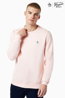 Original Penguin® Sticker Pete Crew Neck Sweatshirt
