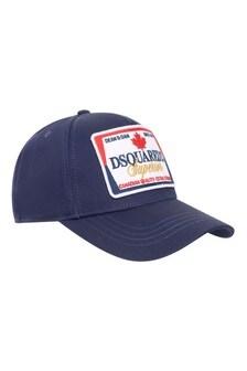 Boys Cotton Logo Cap