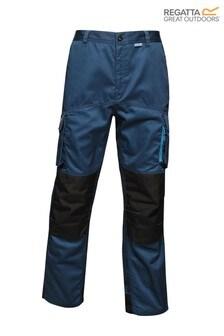 Regatta Blue Heroic Workwear Cargo Trousers