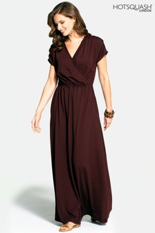 HotSquash Brown Maxi Dress