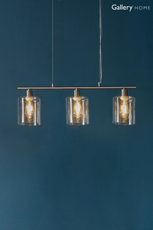 Chicago 3 Light Pendant by Gallery Direct
