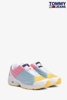 Tommy Jeans Blue Colour Block Trainers