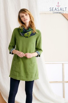 Seasalt Green Oceanfront Tunic