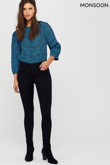 Monsoon Black Nadine Regular Jeans