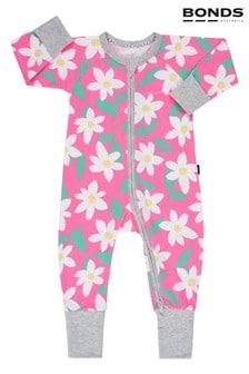 Bonds Daisy Dreaming Pink Zip Wondersuit
