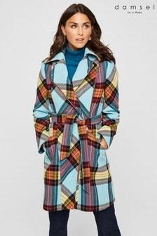 Damsel In A Dress Multi Cariss Check Coat