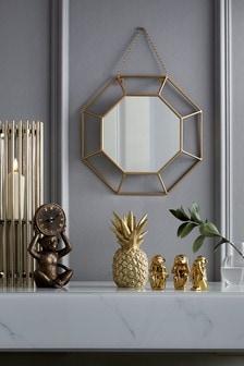 Mini Faceted Mirror