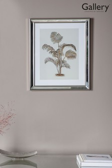 Tropical Palm II Framed Art by Gallery Direct