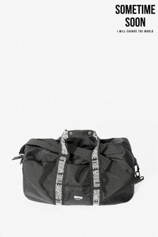 Sometime Soon Black Freemont Duffel Bag