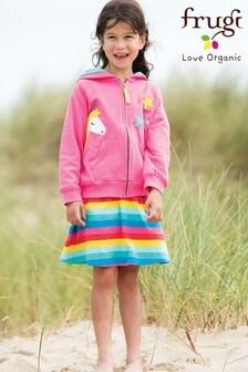 Frugi GOTS Organic Rainbow Skort
