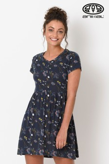 Animal Blue Daydreams Jersey Dress