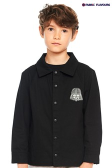 Fabric Flavours Black Star Wars™ Dark Side Coach Jacket