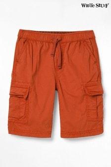 White Stuff Red Niko Cargo Shorts