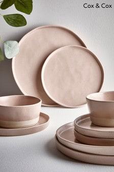 Set of 6 Speckled Dinner Plates