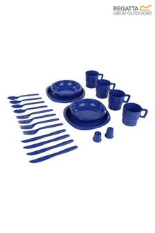 Regatta Blue 4 Person Picnic Set