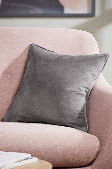 Soft Velvet Square Cushion