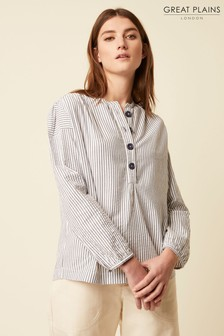 Great Plains Blue Nala Stripe Shirt