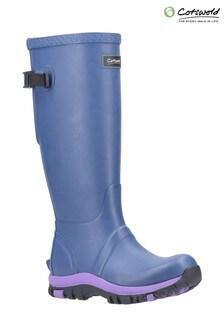 Cotswold Purple Realm Adjustable Wellington Boots
