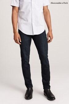 Abercrombie & Fitch Dark Wash Stretch Slim Jeans