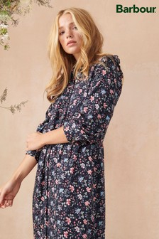 Barbour®/Laura Ashley Navy Floral Print Tunic Dress