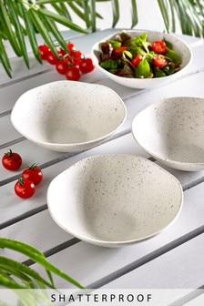 Speckle Set of 4 Bowls