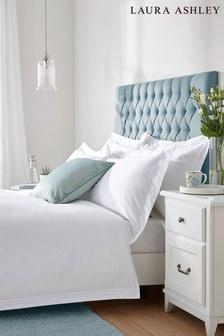 Duck Egg Bourton Duvet Cover And Pillowcase Set