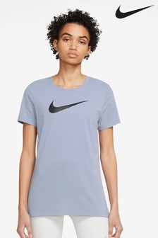 Nike DriFIT Cotton Blend Swoosh Training T-Shirt