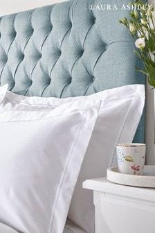 Set of 2 Laura Ashley Duck Egg Bourton Pillowcases