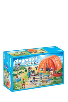 Playmobil® 70089 Family Fun Tent With Camping Accessories