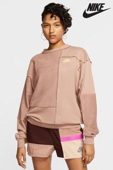 Nike Icon Clash Fleece Crew Sweater