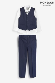 Monsoon Blue Cosgrove Suit Set