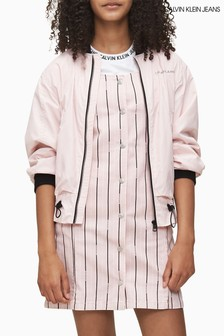 Calvin Klein Pink Essential Light Bomber Jacket
