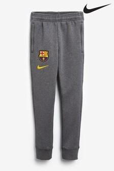 Nike Grey FC Barcelona Fleece Joggers