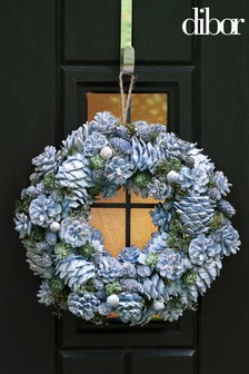 Dibor Blueberry Sparkle Wreath