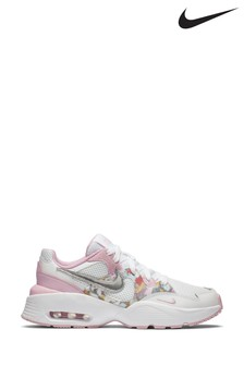 Nike Pink Floral Fusion Trainers