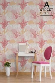 A Street Pink Ari Wallpaper