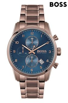 BOSS Skymaster IP Bracelet Watch