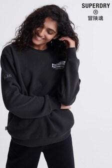 Superdry Merch Store Band Crew Sweatshirt