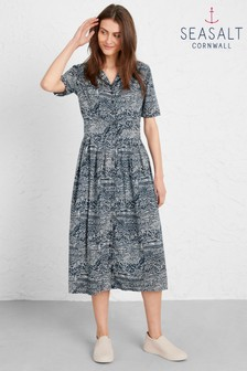 Seasalt Blue Charlotte Dress