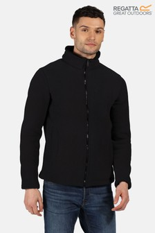 Regatta Black Garrian Full Zip Fleece Jacket