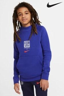 Nike Blue Chelsea Fleece Hoodie