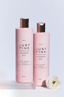 Set of 2 Just Pink Shower Gel 400ml